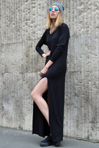 black maxi dress Zoe Phobic dress
