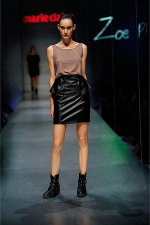 leatherette Zoe Phobic skirt