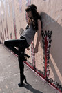 Black-alexander-wang-boots-black-kova-and-t-leggings-heather-gray-city-of-do