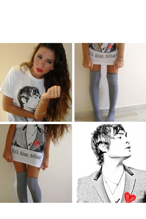YATT t-shirt - Calzedonia socks - accessories
