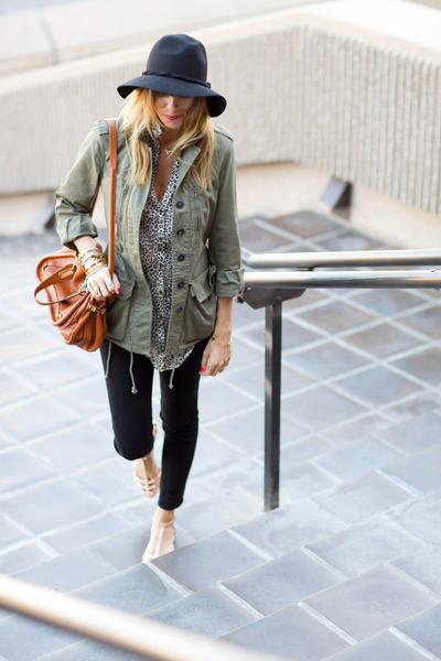 J Brand jeans - free people hat - Chloe bag - Zara blouse - Zara flats