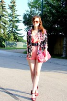 Urban Outfitters blazer - Nine West purse - coach sunglasses