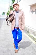 Zara jeans - Zara shoes - H&M coat - Lee shirt - Zara bag
