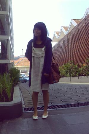 dloops coat - Landy purse - Marie Claires shoes - Local Boutique dress - Local s