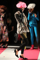 """BJ Kicks A"" in the Betsey Johnson Fall/Winter 2013 collection"
