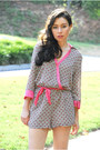 Pink-wrap-sugarlips-romper-brown-boots