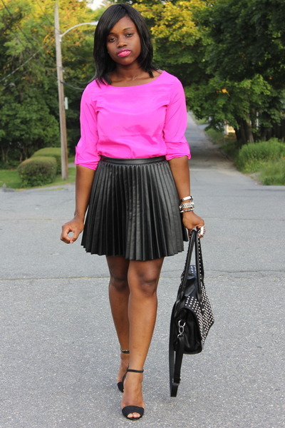 pleated leather h m skirts sandal zara heels quot get it