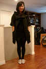 Black-twelve-by-twelve-jacket-black-lux-dress-black-tights-beige-aldo-shoe