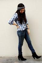 no brand shirt - axxs boots - kidsmadehere jeans