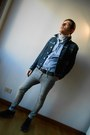 Heather-gray-diesel-jeans-navy-diesel-jacket-white-scout-scarf