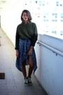 Zara-sweater-nike-sneakers