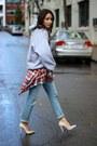 Levis-jeans-zara-heels