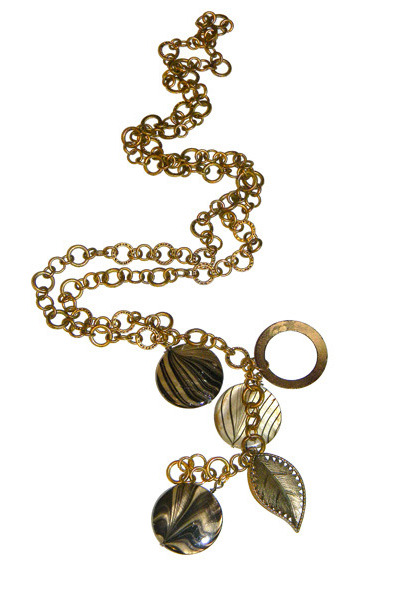long charm ALEXANDRA TODD necklace