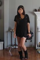 Express shirt - Target shorts - Aldo boots