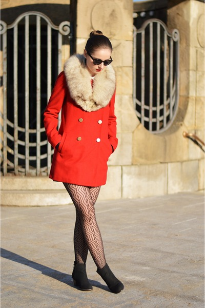 red Mango coat