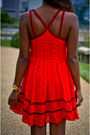 Red-fit-and-flare-free-people-dress