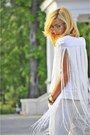 White-sp-gr-zara-top-camel-h-m-necklace-white-blacn-zara-pants
