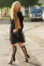 Brown-leather-ss2014-h-m-jacket-black-clutch-aldo-bag