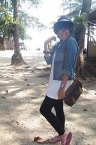 hat - Lois jacket - Contempo top - leggings - accessories - Bali