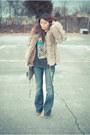 Lita-jeffrey-campbell-boots-fur-vintage-coat-william-rast-jeans-rebecca-mi