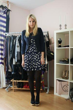 Zara dress - Primark shoes - H&M jacket