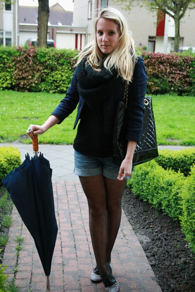 H&M jacket - H&M shorts - Sacha shoes - Primark bag purse