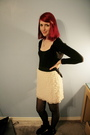 Black-top-beige-target-skirt-black-tights-black-minnetonka-boots-black-s