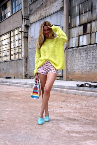 Topshop sweater - Primark shorts