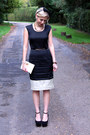 Monochrome-jaeger-dress-michael-kors-bag-topshop-wedges