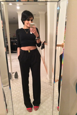 black Mango pants