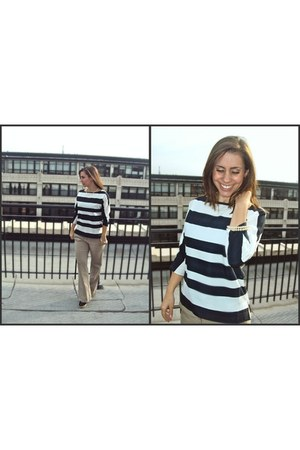 stripes Loft blouse - Limited pants