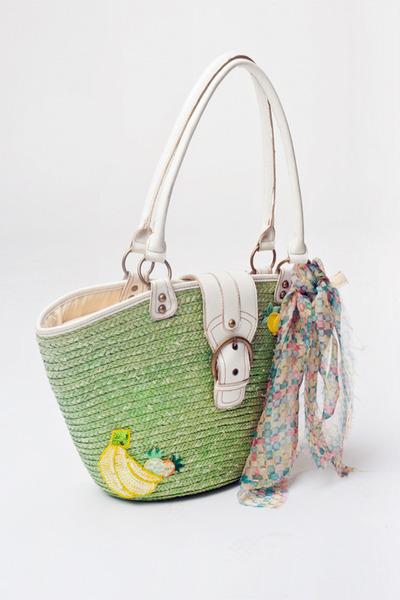 chartreuse Alyssa Nicole bag
