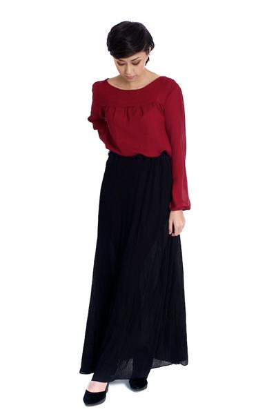 black Alyssa Nicole skirt