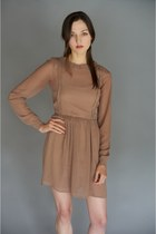camel Alyssa Nicole dress