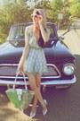 Sky-blue-alyssa-nicole-dress-pink-floral-print-alyssa-nicole-scarf