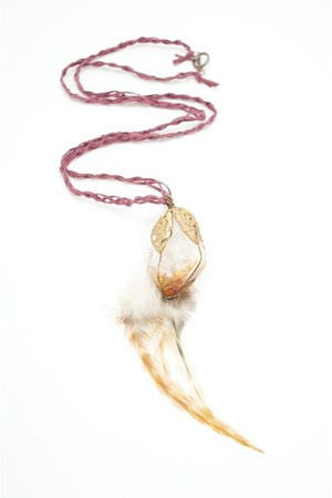 maroon Alyssa Nicole necklace