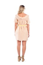 Peach Peterpan Collar Alyssa Nicole Dresses