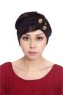 Black-turban-alyssa-nicole-accessories