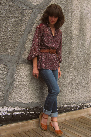 vintage blouse