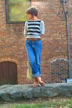 vintage shirt - vintage jordache jeans