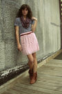 Target-skirt-american-apparel-t-shirt