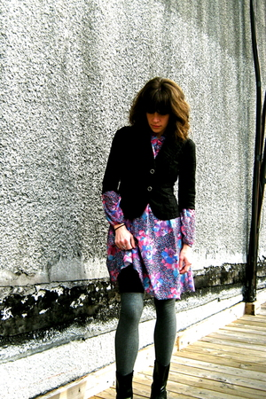 vintage dress - Lux blazer