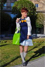 Isaac-mizrahi-for-target-dress-moschino-bag-vintage-skirt-bow-on-necklace-