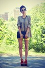 Black-diy-shirt-carrot-orange-oasap-wedges-mustard-thallo-ring