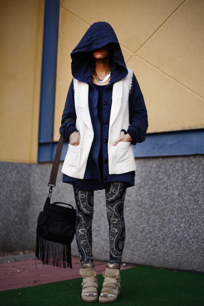 navy Now I Style jacket - navy Now I Style leggings