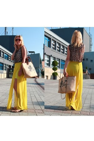 Bershka dress - Bershka bag - Vero Moda top