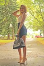 Black-sheinside-dress-camel-zara-coat-black-michael-kors-bag