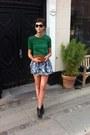 Suede-2nd-hand-bag-floral-print-topshop-skirt-h-m-t-shirt