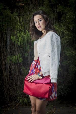 melao skirt - Aishop jacket - Zara purse