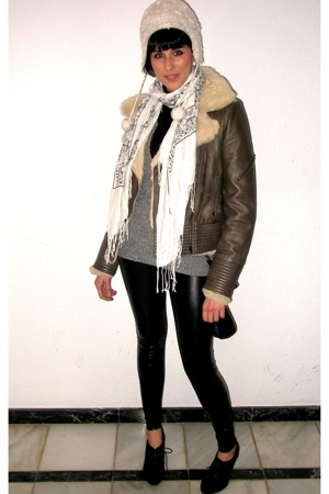 BLANCO jacket - H&M hat - H&M scarf